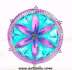 mandala no 1 arttally