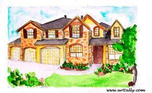 Sketching buildings no 3
