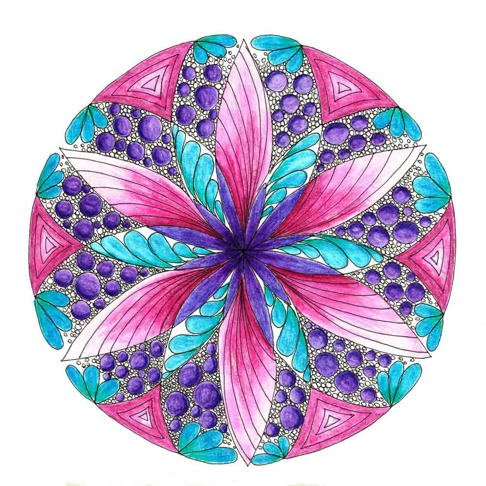 Dec 2016 Mandalas