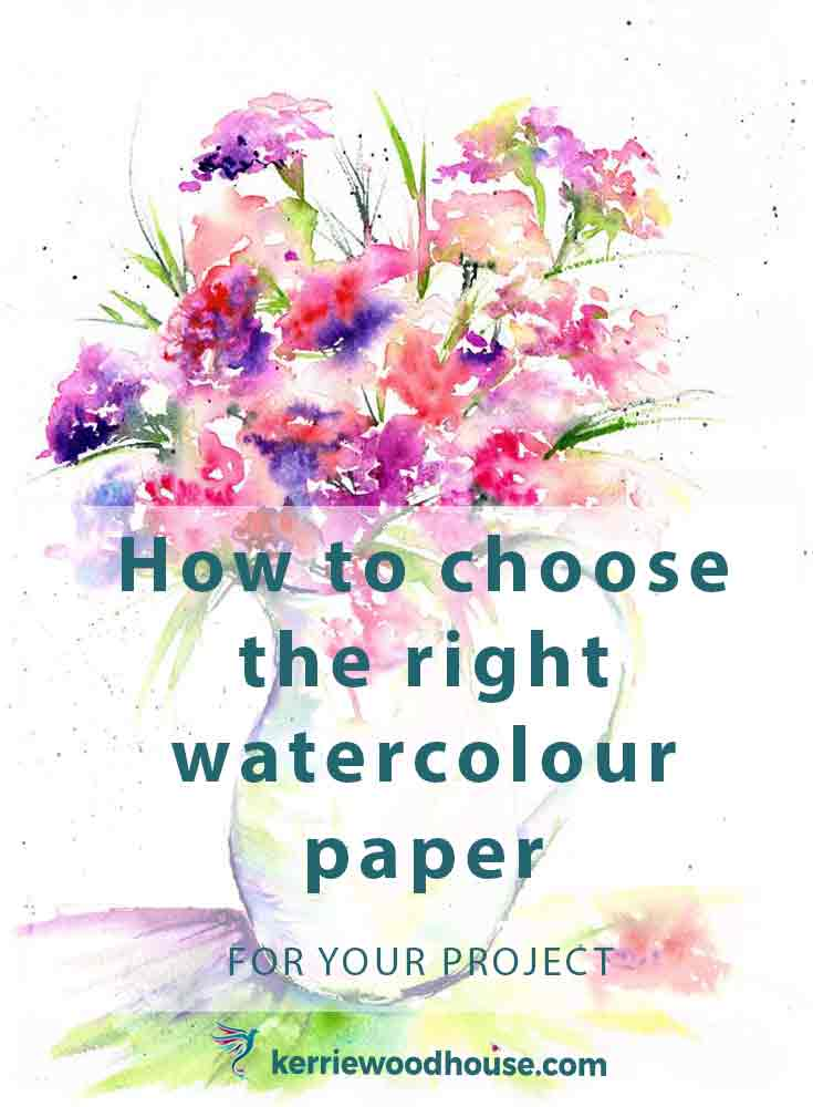 choose watercolour paper