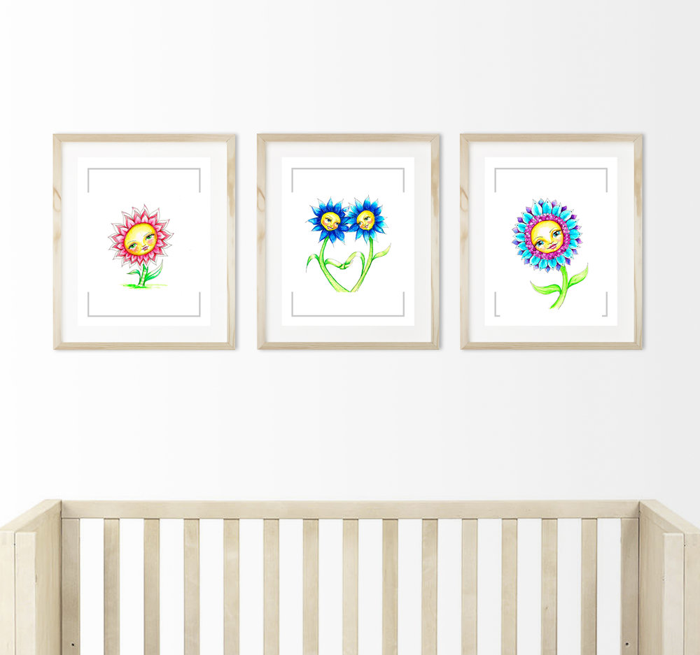 3 daisies nursery mock up square crop.jpg