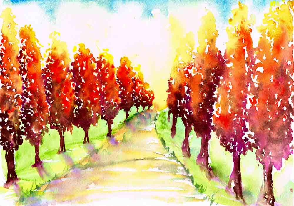 Apr 17 Happy Little Trees