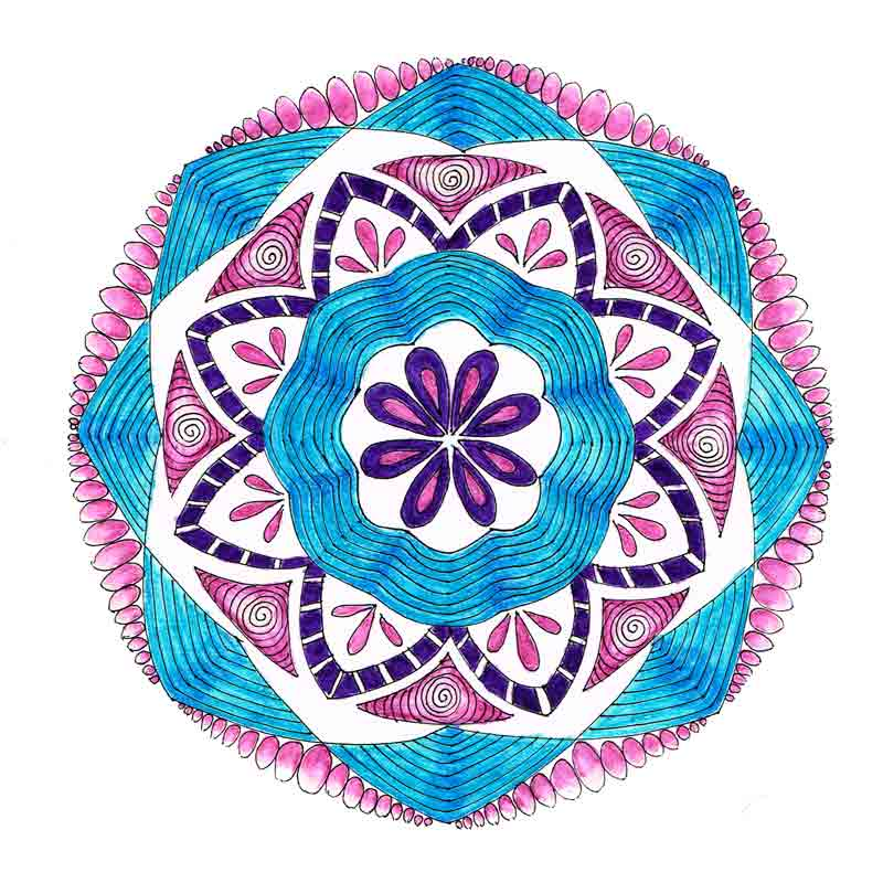 Dec 17 Mandalas