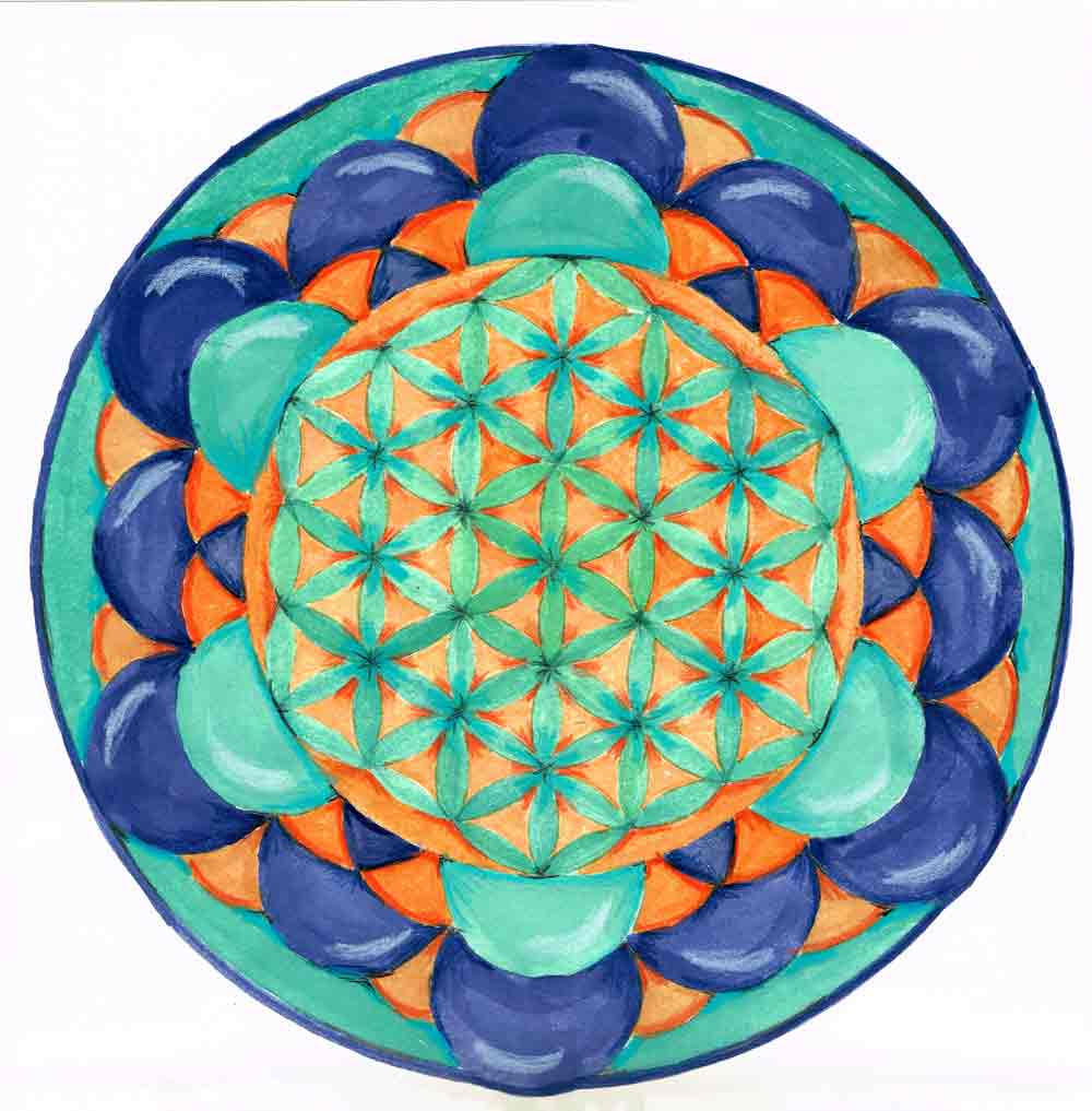 flower of life arttally