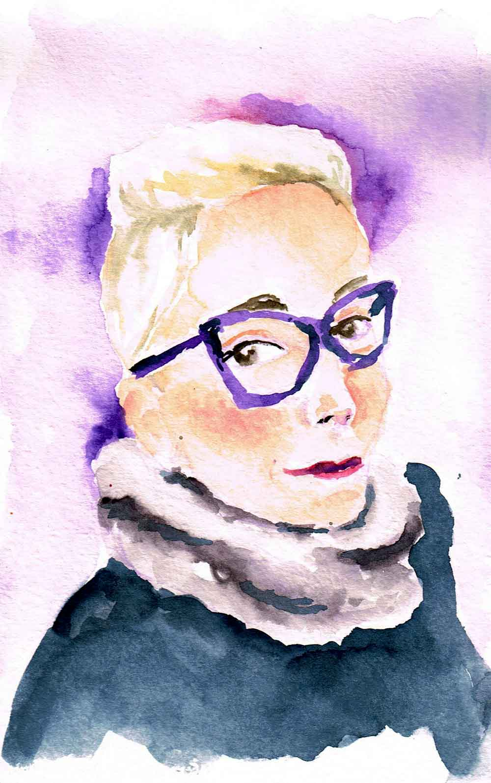 Feb 19 Portraits in Watercolour