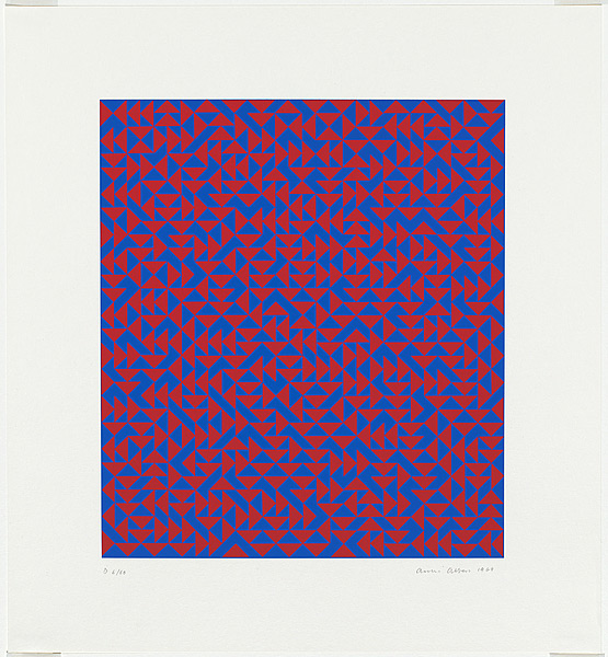 Anni Albers, Untitled screenprint, 1969