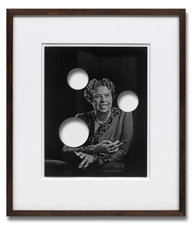 Cerith Wyn Evans  Untitled (Anna Eleanor Roosevelt) , 2003