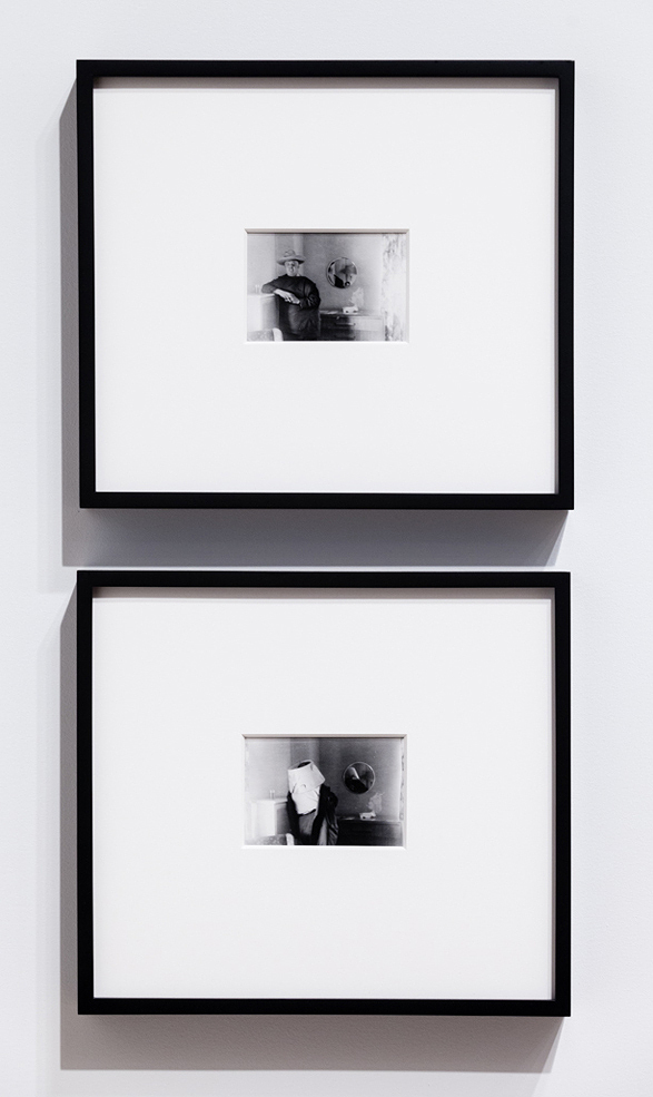 Its Remaining Presence , 2012 Pair of found photographs: Silver gelatin fiber prints 4 x 2.75 inches each