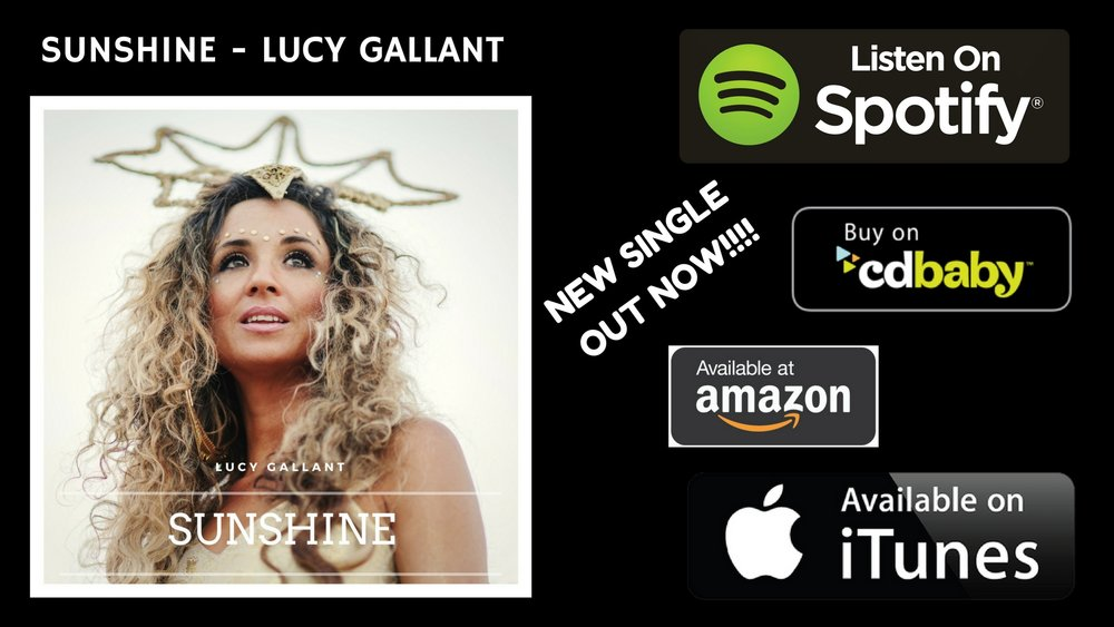 SUNSHINE -Lucy Gallant brand new single out now!.jpg