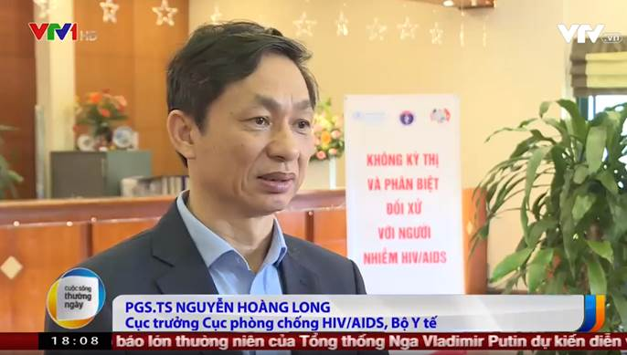 Dr. Nguyen Hoang Long, Director of the Vietnam Administration for HIV/AIDS Control