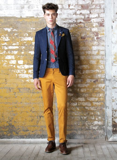 To everything, there is a season. Even apricot pants