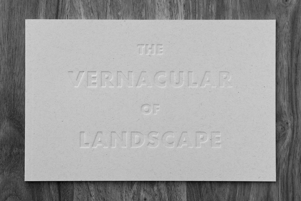 SUBJECTIVELY, OBJECTIVE|BOOK  The Vernacular of Landscape  06.06.18