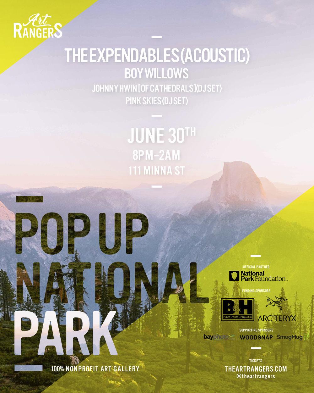 POP UP NATIONAL PARK