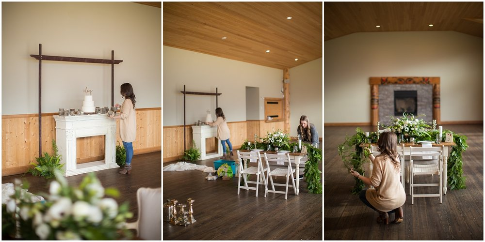 Amazing Day Photography - Fraser River Lodge Styled Session - Woodland Wedding - Green Tones - Green and White Wedding - Blush Wedding Dress - Morilee Wedding Dress - BC Wedding (1).jpg