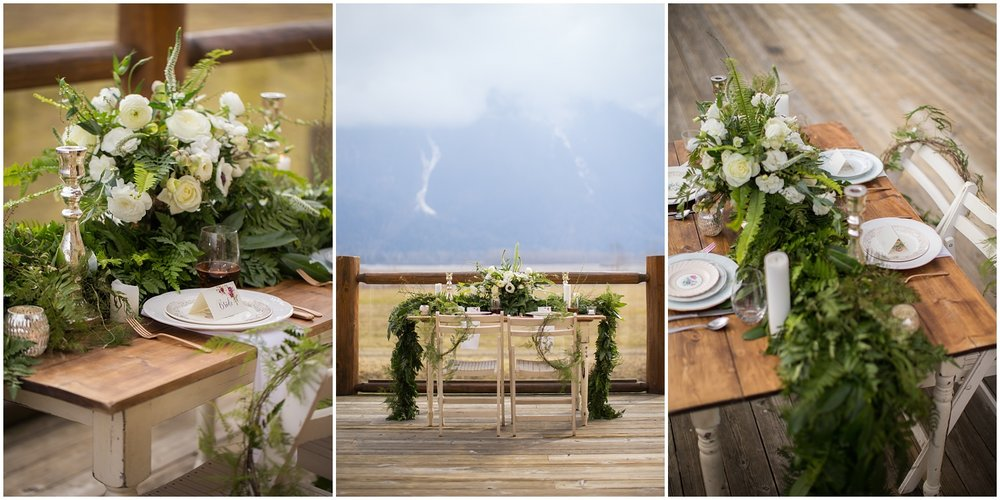 Amazing Day Photography - Fraser River Lodge Styled Session - Woodland Wedding - Green Tones - Green and White Wedding - Blush Wedding Dress - Morilee Wedding Dress - BC Wedding (39).jpg