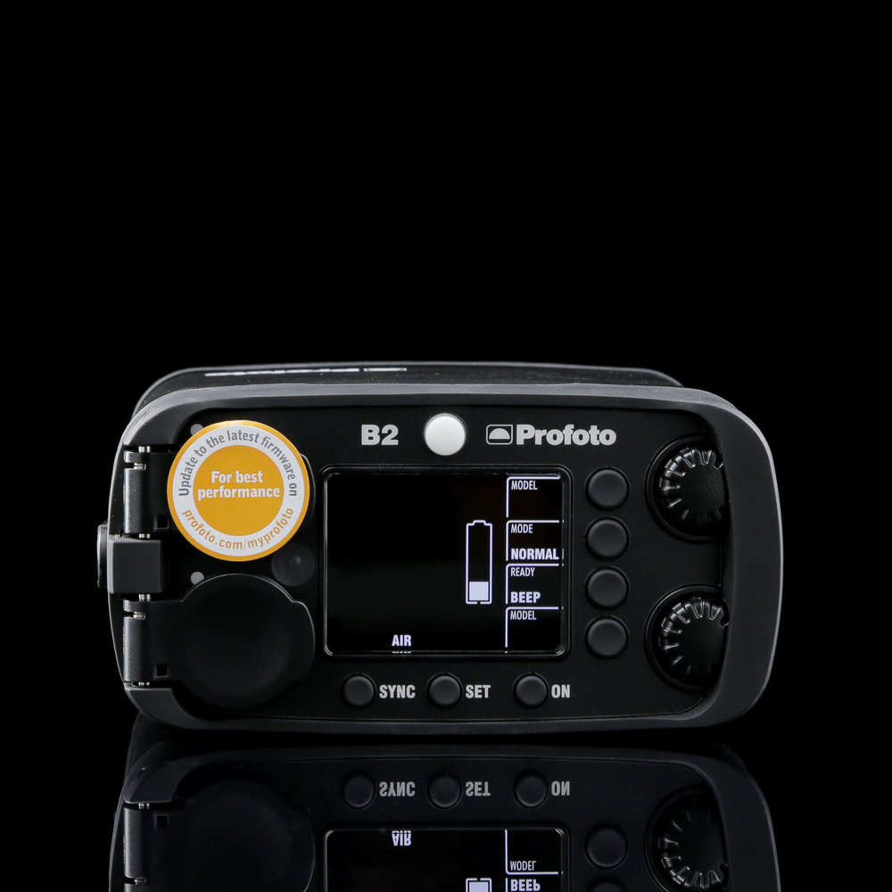 Profoto B2 Pack Controls