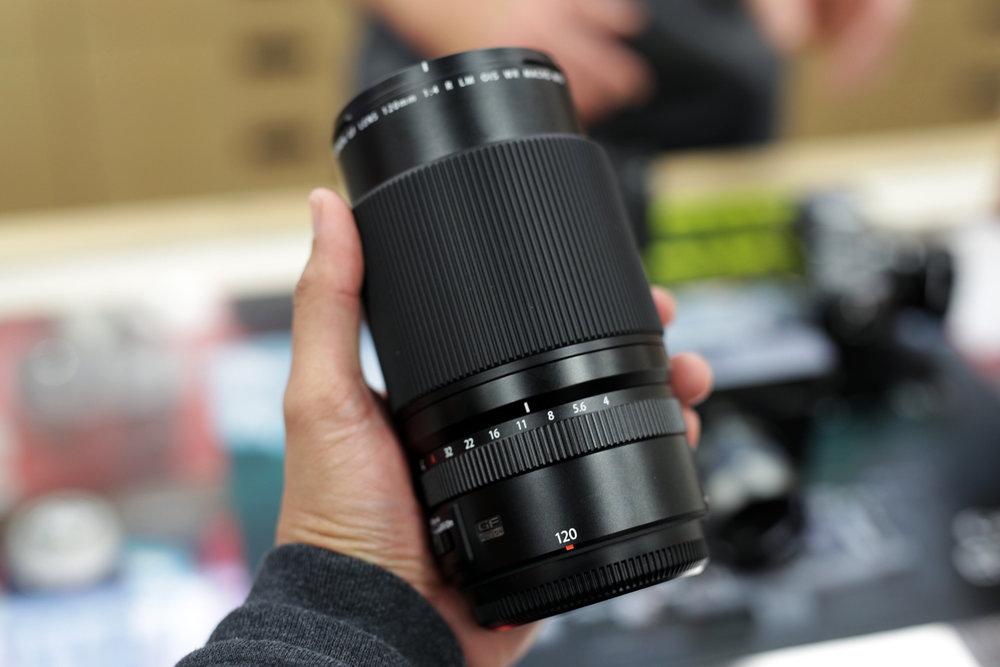 Fujinon GF 120mm f/4 OIS Macro