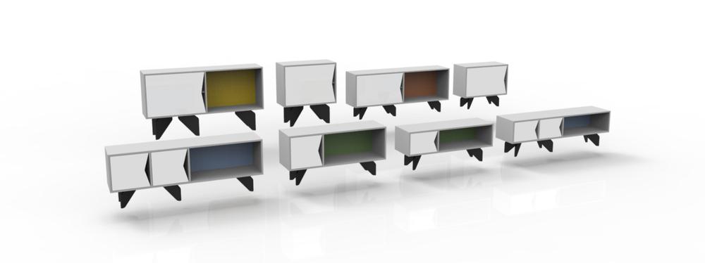 plywood sideboard variation