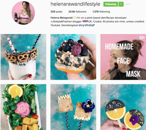 Profile of @helenarawandlifestyle