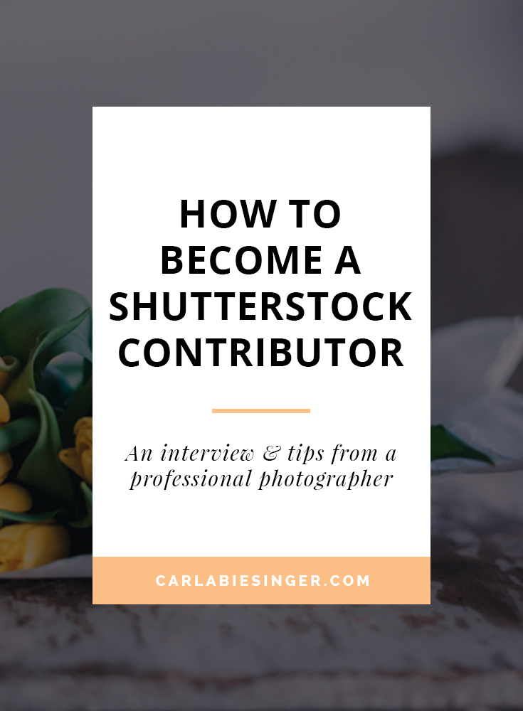 Become a Shutterstock photographer and monetize your blog. #photographytips #blogging