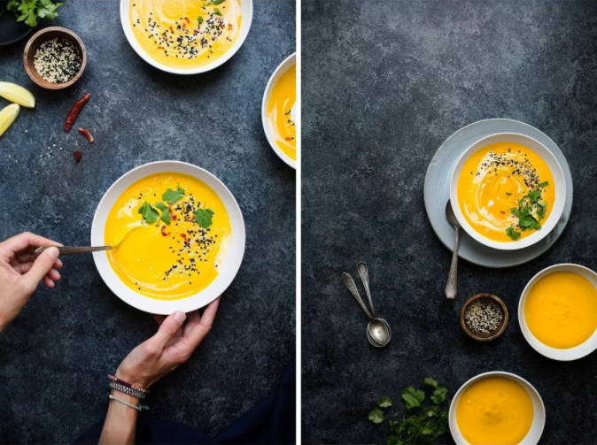 "SWEET POTATO COCONUT SOUP FROM ""JOYOUS DETOX"""