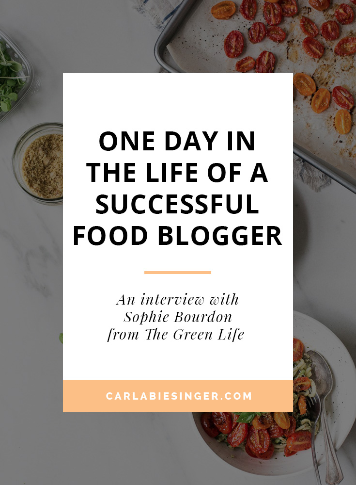 How to start a food blog. #foodblogging #bloggingtips