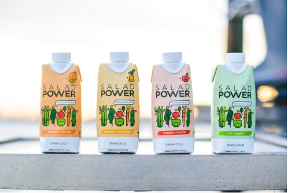 The SaladPower Product Range.