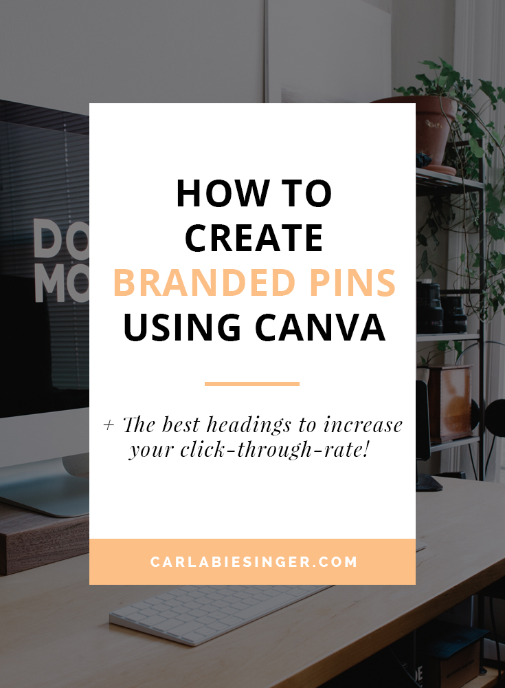 Canva tutorial: How to create your own beautiful social media graphics #pinterest #bloggingtips