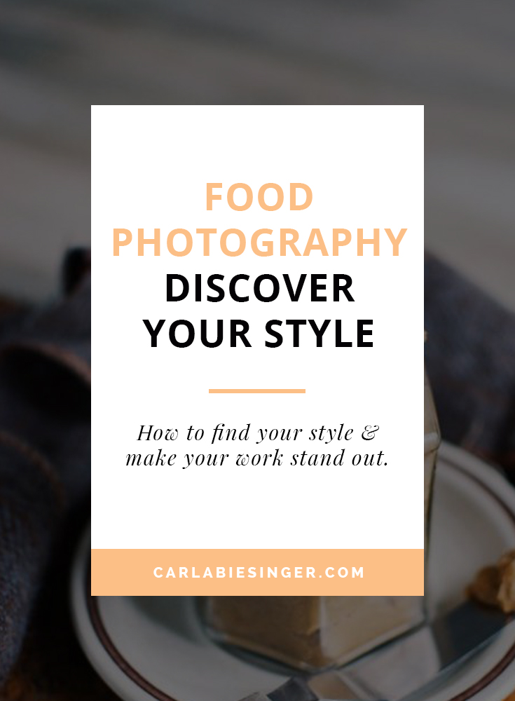 How to develop your food photography style. #foodphotographytips #blogging