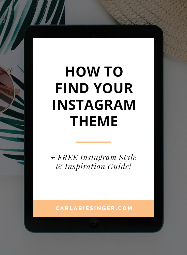 Your Instagram theme: how to set your account apart from the rest and gain more followers #blogging #Instagramtips