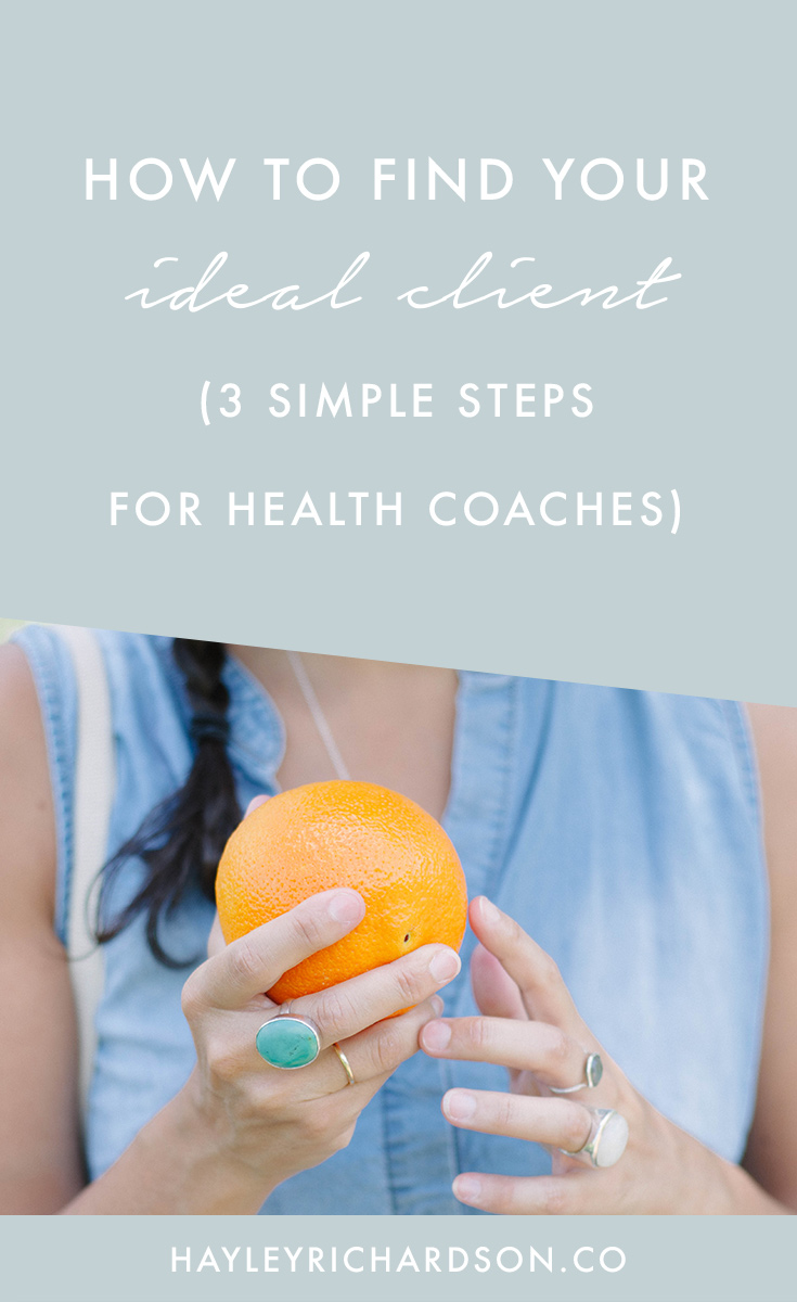 Trying to visualise your ideal client? Here's three simple steps for Health Bloggers and Coaches to create the best ideal client profile. Click through to read the post and get the Ideal Clients worksheet.