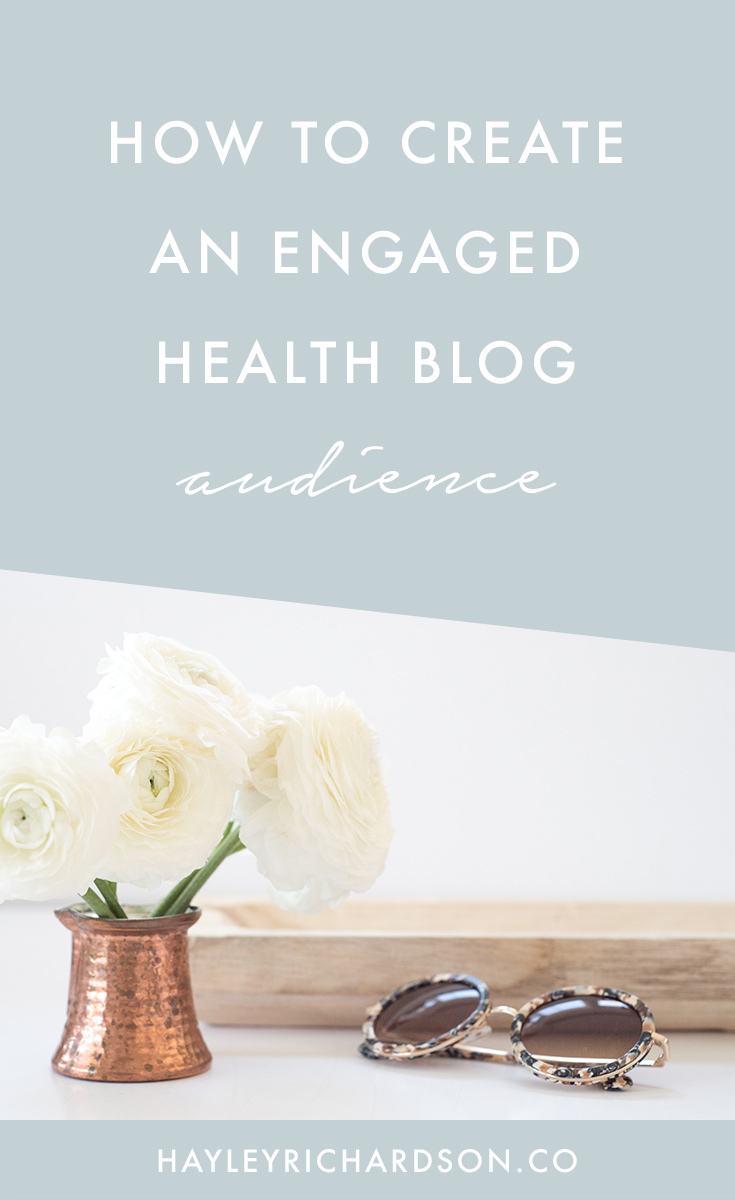Want to increase your health blog's audience engagement? Sure you do! I'm sharing 7 of my best blog engagement tips today, with a video demo that will also help you turn those engaged readers into blog subscribers. Click through to read the tips in full.
