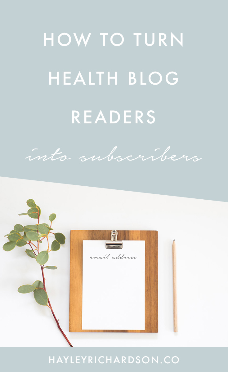 Want to get more subscribers to your health blog? Here's an incredible simple-yet-effective way to get more blog subscribers, with a video demonstration to help you create your own content upgrades. Click through to read the post and get more subscribers today!