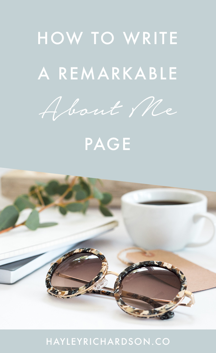 Want to know how to write a remarkable About Me page. This epic post shares the secret ingredients that the best About Me pages use. Click through to find out how.