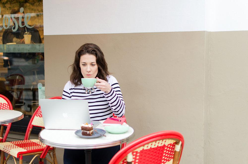 Rachel Letham by Hayley Richardson Personal Branding Photography London