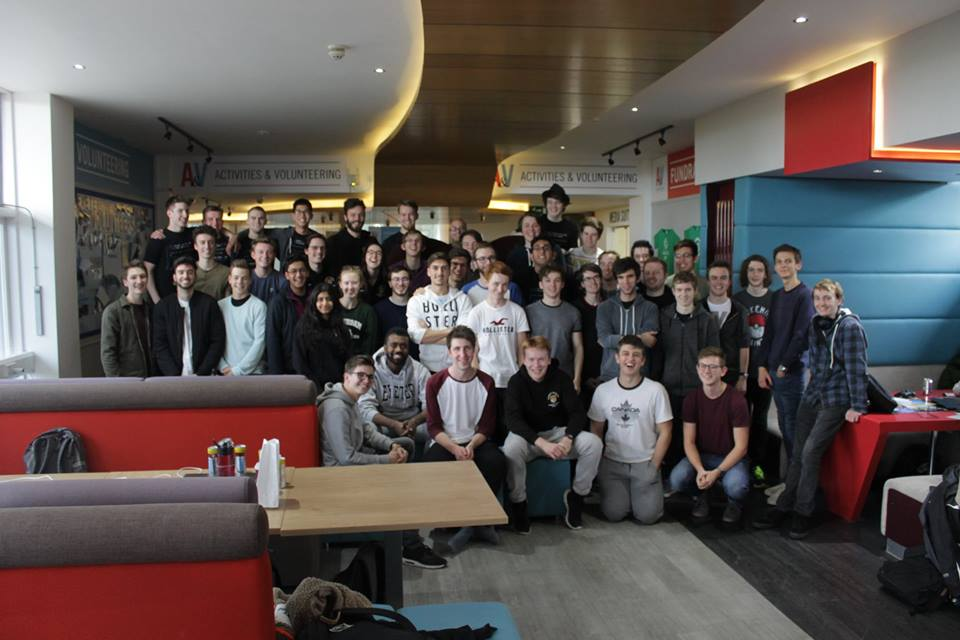 Exeter University CSS Students at the 24-hr Hackathon