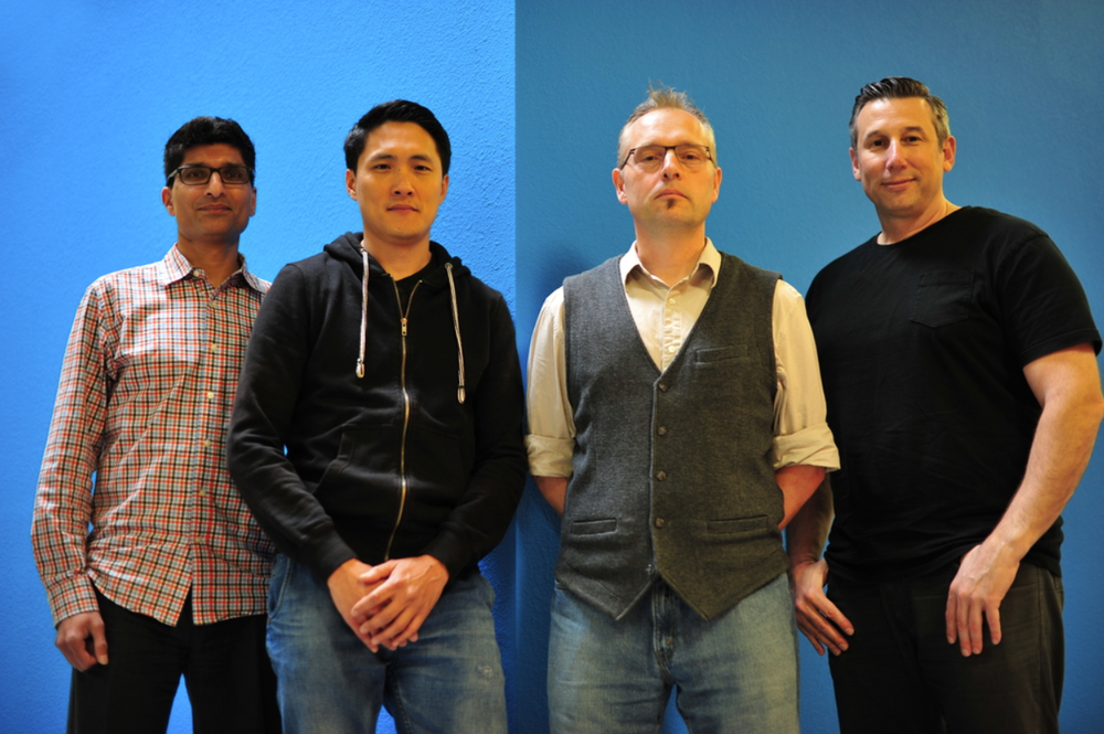 Left to Right: Rajan Tande, Chi Chan, Kevin Shrapnell, Kip Katsarelis
