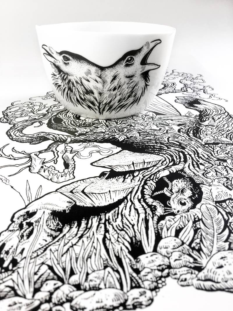 Antikapratika Handmade Porcelain and Prints