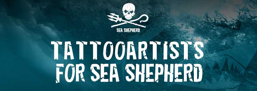 tattooartists for Sea Shepherd berlin 2018