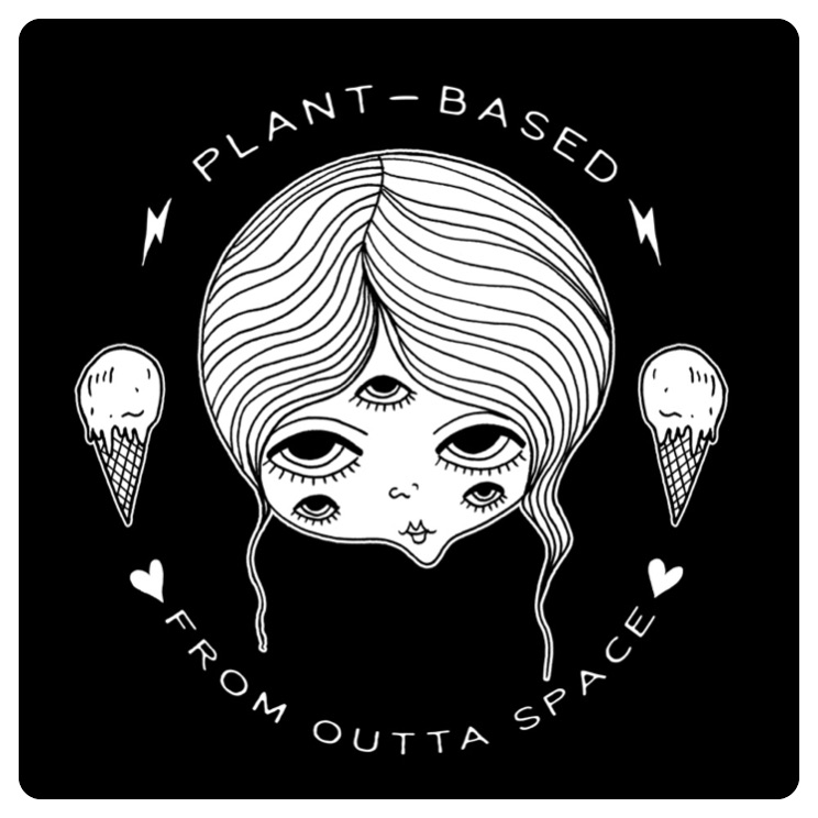 T-shirt design #1. for Space Bars Vegan Ice Cream