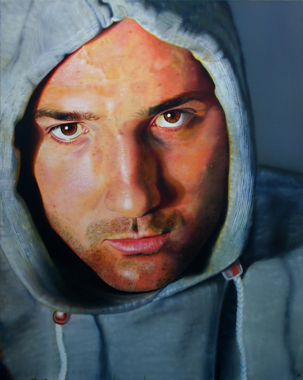 'Ben' Oil on Canvas - 80x100cm