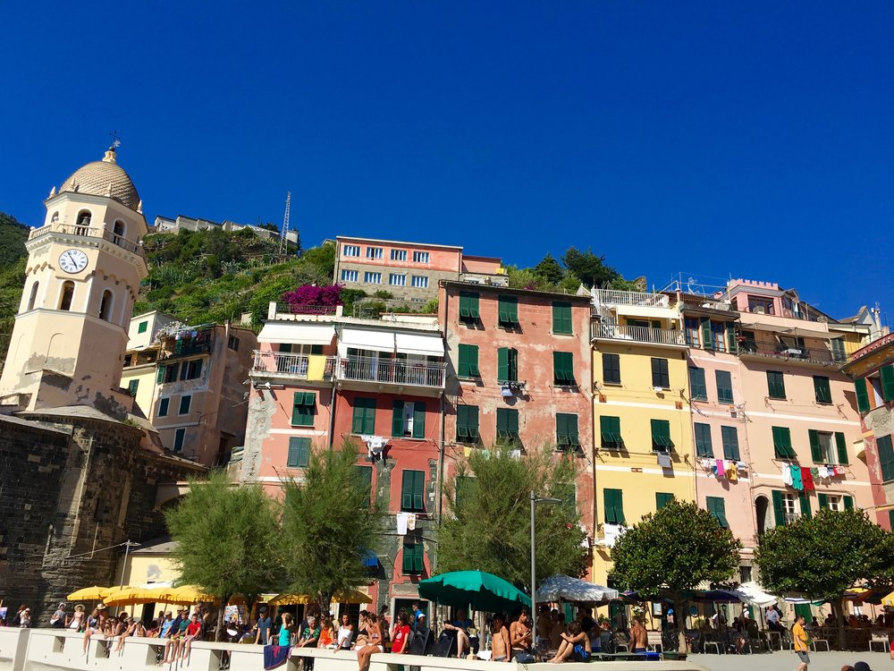 Beautiful colours of Vernazza