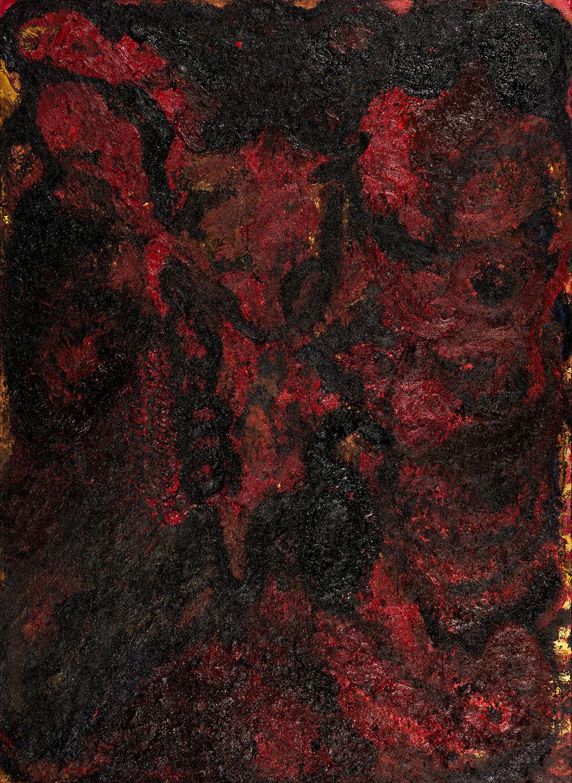 Untitled, 2015 Mixed media 280 x 210 cm