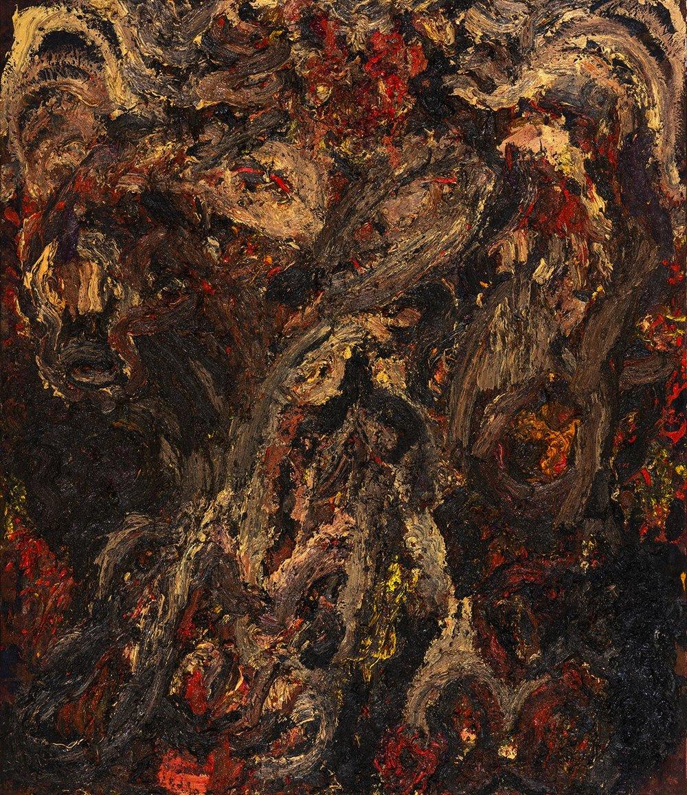 Cyberdemon, 2016 Oil on canvas 245 x 210 cm