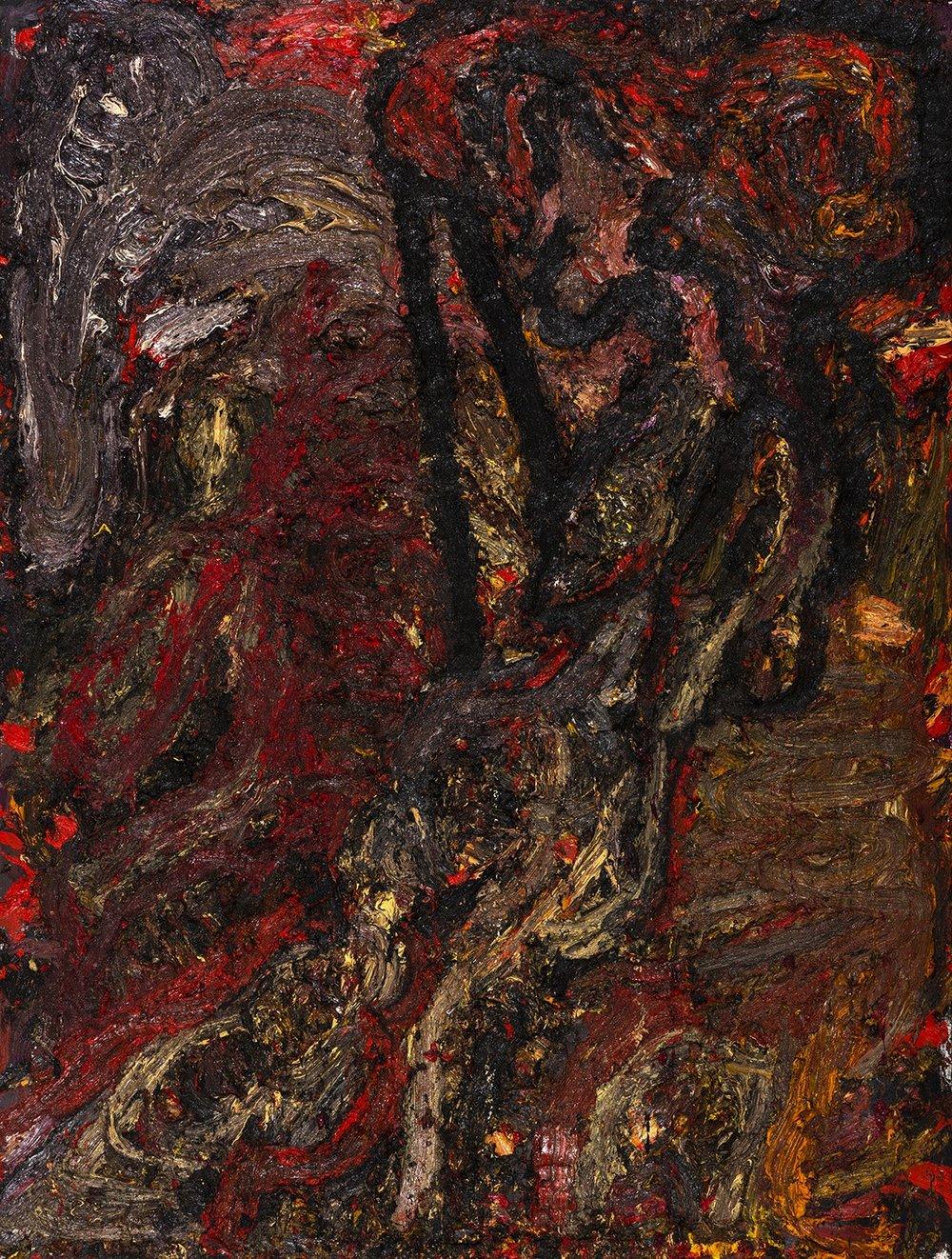 Cyberdemon, 2016 Oil on canvas 280 x 210 cm