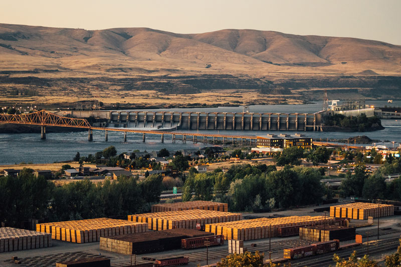 Our operation in The Dalles has been supplying tie treatment services to America's Class 1 railroads since 1922