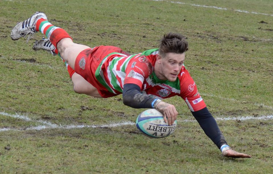 Try against Pontypridd in 23-22 cup defeat 2013
