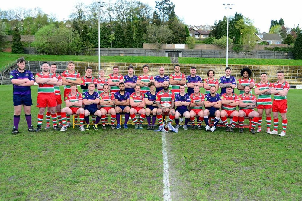 The Championship winning side 2013-14. See me just left of centre, in the shadow of our formidable skipper and good friend Damien Hudd.