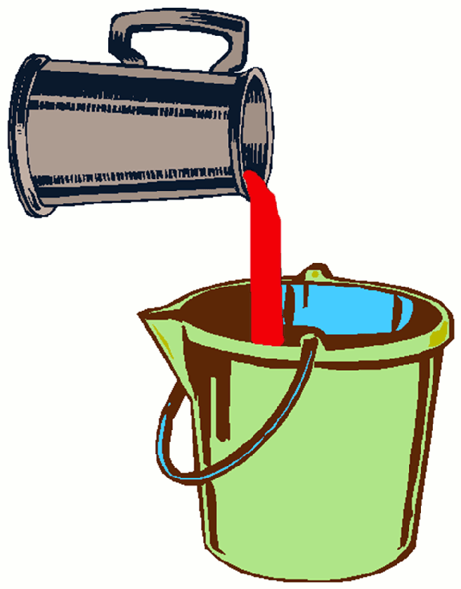 The bucket analogy is a dynamic model that emphasises the nature of how we manage stress, or stressors. There are any number of daily things that can be stressors, including exercise that challenge our allostatic load (stability through change). If our bucket overfills it can stimulate our pain system and make the alarm more sensitive.