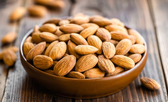Almonds are extremely high in omega-6 and come with a long line of proposed health benefits from reduced diabetes to cardiovascular disease.